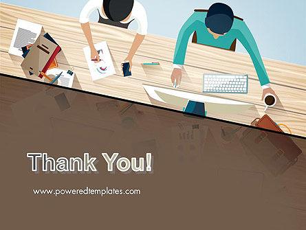 Startup Team Members Brainstorming PowerPoint Template Slide 20