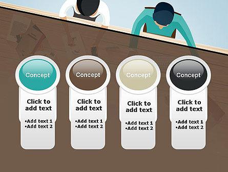 Startup Team Members Brainstorming PowerPoint Template Slide 5