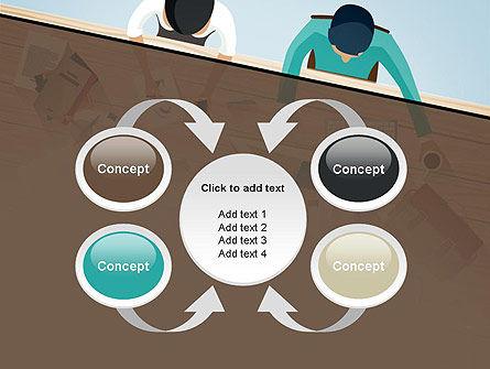 Startup Team Members Brainstorming PowerPoint Template Slide 6