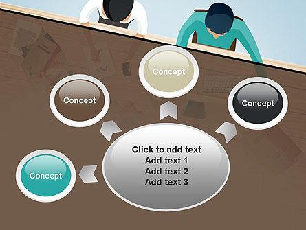 Startup Team Members Brainstorming PowerPoint Template Slide 7