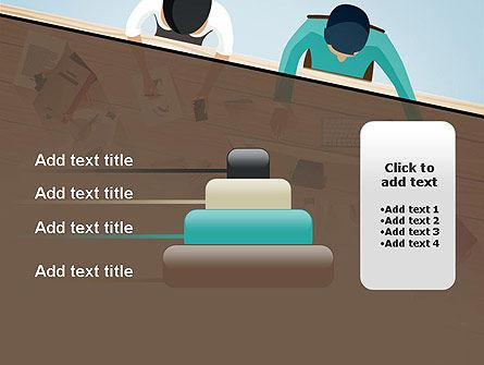 Startup Team Members Brainstorming PowerPoint Template Slide 8