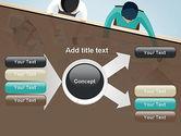 Startup Team Members Brainstorming PowerPoint Template#14