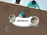 Startup Team Members Brainstorming PowerPoint Template#16