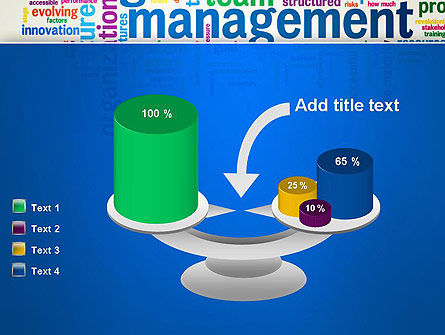 Management Word Cloud PowerPoint Template Slide 10