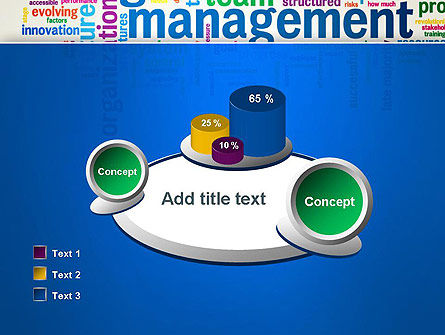 Management Word Cloud PowerPoint Template Slide 16
