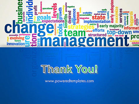 Management Word Cloud PowerPoint Template Slide 20