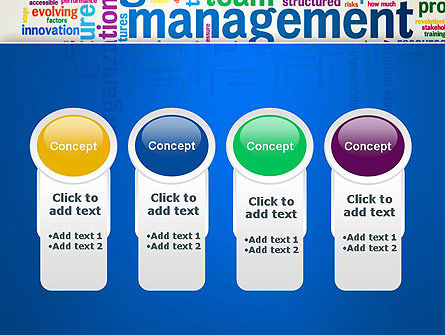 Management Word Cloud PowerPoint Template Slide 5