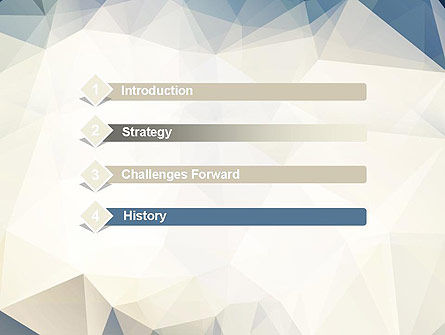 Hipster Triangles Pattern PowerPoint Template Slide 3