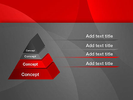Abstract Red Circles PowerPoint Template Slide 12