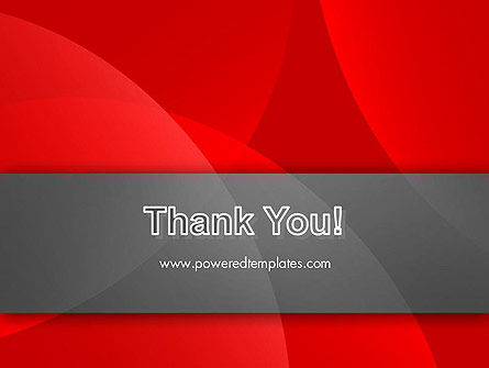 Abstract Red Circles PowerPoint Template Slide 20