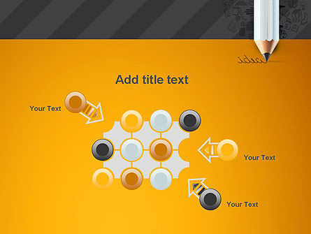 Ideas Come From Writing PowerPoint Template Slide 10