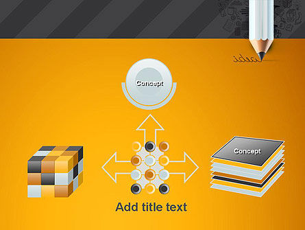 Ideas Come From Writing PowerPoint Template Slide 19