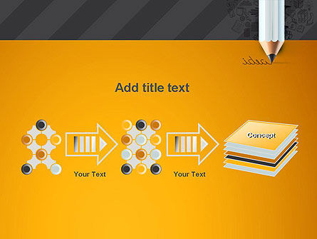 Ideas Come From Writing PowerPoint Template Slide 9