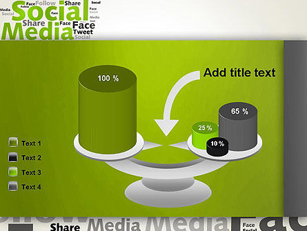 Social Media Wordcloud Concept PowerPoint Template Slide 10