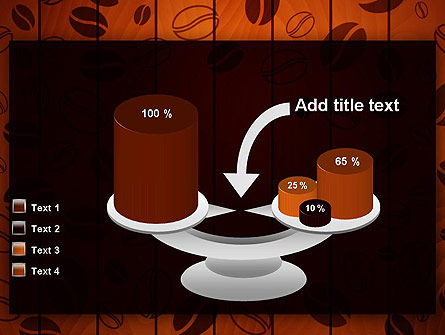 Coffee Beans Background PowerPoint Template Slide 10