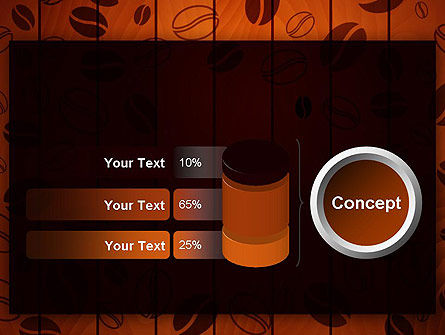 Coffee Beans Background PowerPoint Template Slide 11