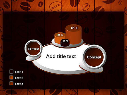 Coffee Beans Background PowerPoint Template Slide 16