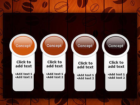 Coffee Beans Background PowerPoint Template Slide 5