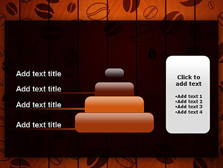 Coffee Beans Background PowerPoint Template Slide 8