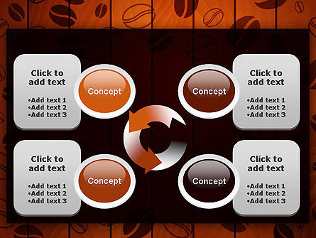 Coffee Beans Background PowerPoint Template Slide 9