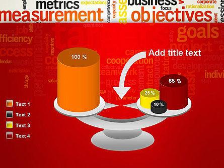 Business Targets Word Cloud PowerPoint Template Slide 10