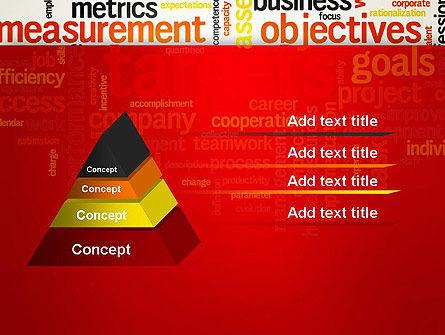 Business Targets Word Cloud PowerPoint Template Slide 12