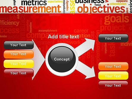Business Targets Word Cloud PowerPoint Template Slide 14