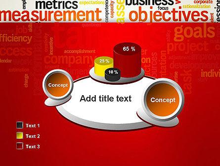 Business Targets Word Cloud PowerPoint Template Slide 16
