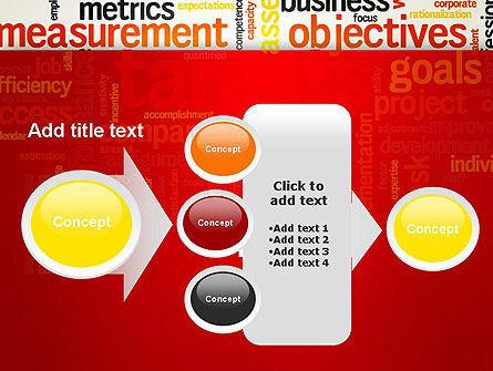 Business Targets Word Cloud PowerPoint Template Slide 17