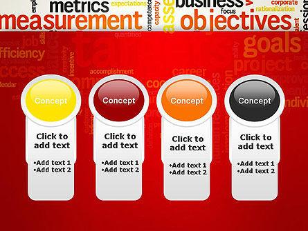 Business Targets Word Cloud PowerPoint Template Slide 5