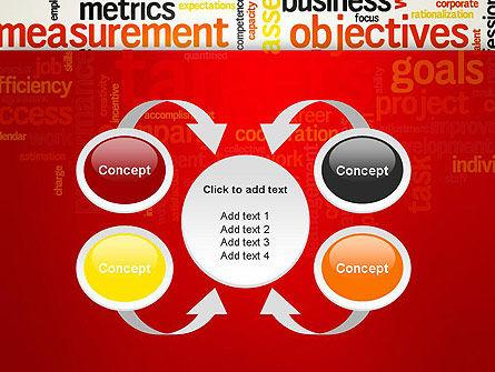 Business Targets Word Cloud PowerPoint Template Slide 6