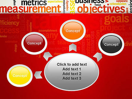 Business Targets Word Cloud PowerPoint Template Slide 7