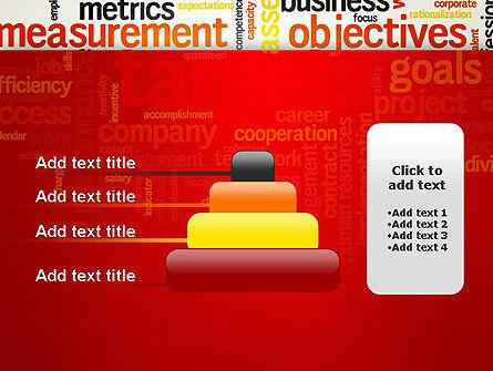 Business Targets Word Cloud PowerPoint Template Slide 8