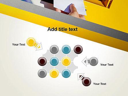 Sending Letter PowerPoint Template Slide 10
