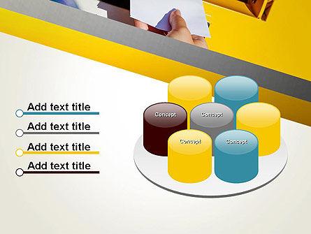Sending Letter PowerPoint Template Slide 12