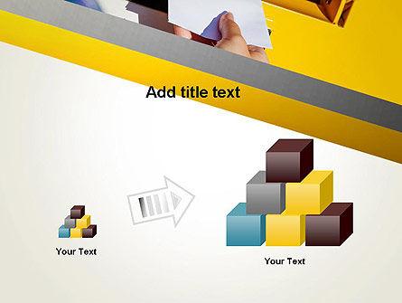 Sending Letter PowerPoint Template Slide 13