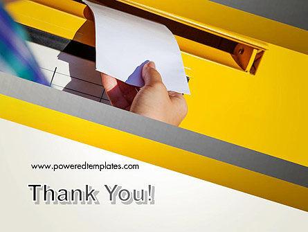 Sending Letter PowerPoint Template Slide 20