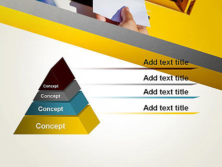 Sending Letter PowerPoint Template, Slide 4, 12841, Careers/Industry — PoweredTemplate.com