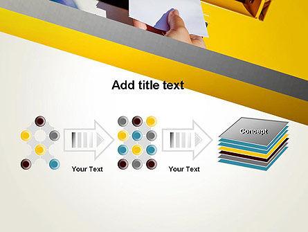 Sending Letter PowerPoint Template Slide 9
