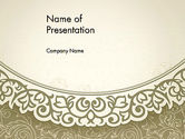 Abstract/Textures: Vintage Pattern Paper Cut PowerPoint Template #12842