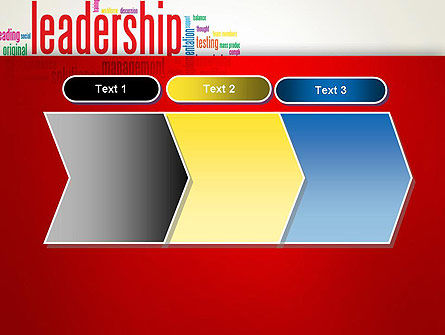 Leadership Management Word Cloud PowerPoint Template Slide 16