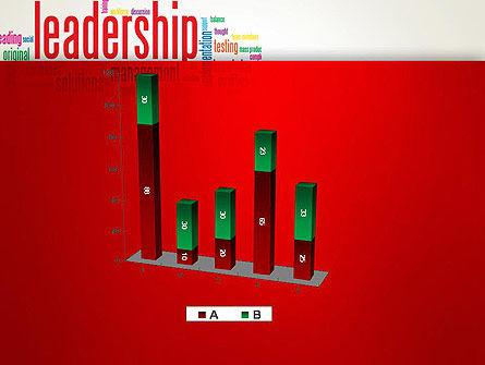 Leadership Management Word Cloud PowerPoint Template Slide 17