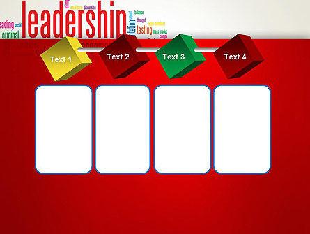 Leadership Management Word Cloud PowerPoint Template Slide 18