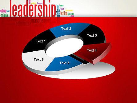 Leadership Management Word Cloud PowerPoint Template Slide 19