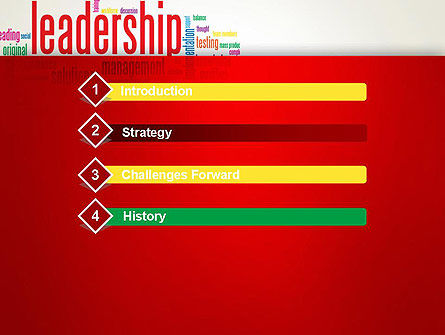 Leadership Management Word Cloud PowerPoint Template, Slide 3, 12844, Education & Training — PoweredTemplate.com