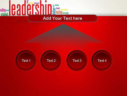 Leadership Management Word Cloud PowerPoint Template Slide 8