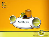 Globe with Internet Related Words PowerPoint Template#16