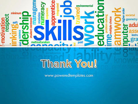 Human Resources Word Cloud PowerPoint Template Slide 20