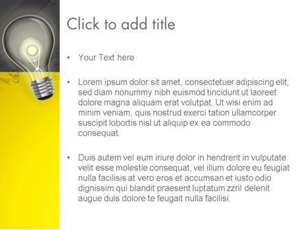 Developing Business Idea PowerPoint Template, Slide 3, 12852, Careers/Industry — PoweredTemplate.com