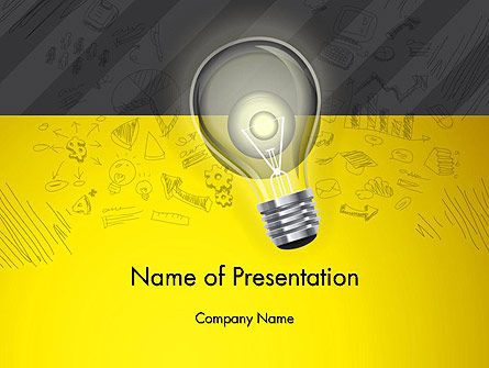 Careers/Industry: Developing Business Idea PowerPoint Template #12852